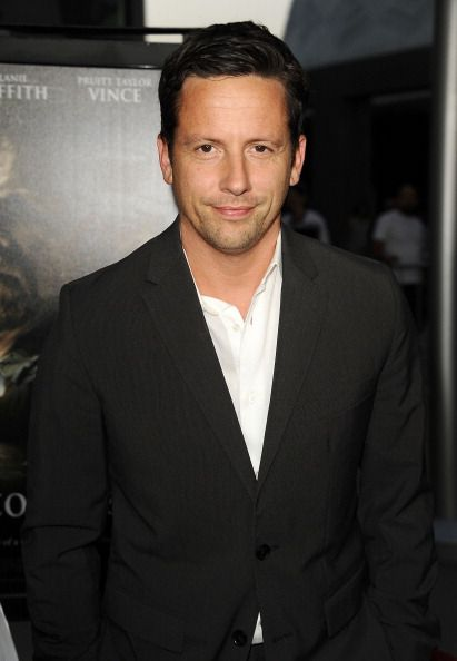 "Ross Mccall arrives at the Premiere Of ""Dark Tourist"" at ArcLight Hollywood on August 14, 2013 in Hollywood, California."