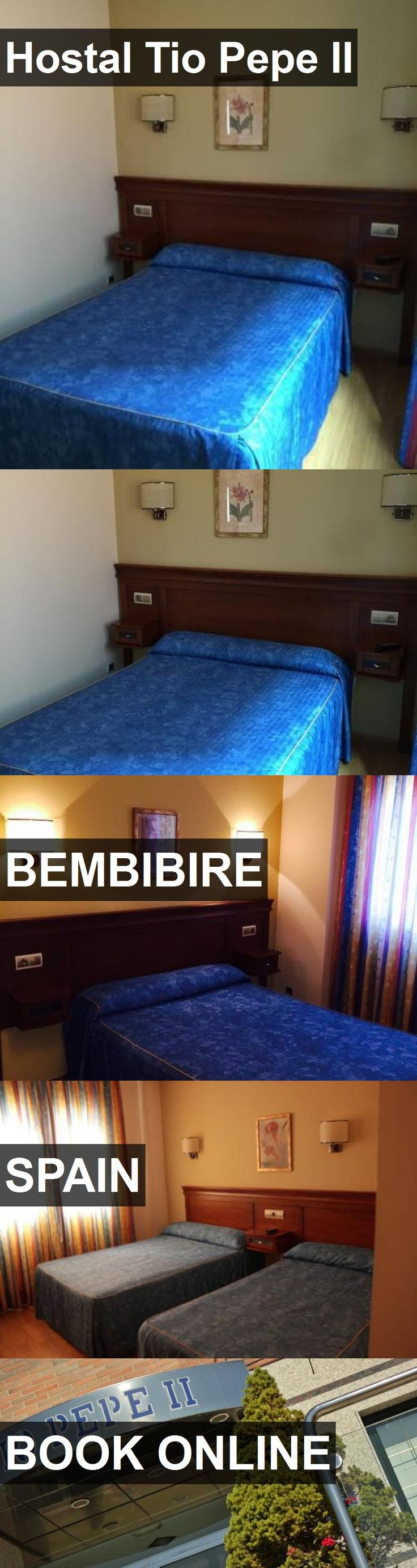 Hotel Hostal Tio Pepe II in Bembibire, Spain. For more information, photos, reviews and best prices please follow the link. #Spain #Bembibire #travel #vacation #hotel