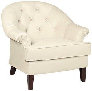 Hamilton Stone Fabric Upholstered Armchair
