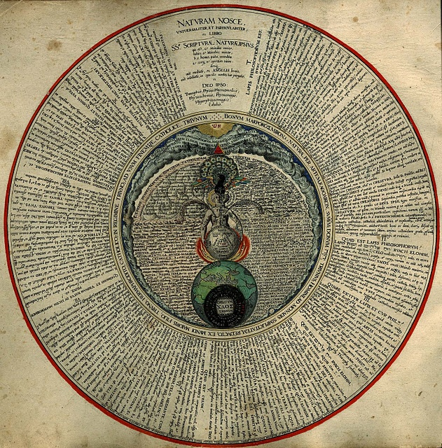 """Early Modern Alchemy: Heinrich Khunrath's """"Amphitheater of Eternal Knowledge"""""""