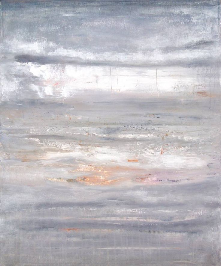 Buy Prints of HB769, a Acrylic on Canvas by Radek Smach from Czech Republic. It portrays: Abstract, relevant to: sea, sky, space, sunset, white, winter, contemporary, grey, landscape, layered, minimalism Original abstract layered painting on canvas.  Ready to hang. No framing required (it can be framed).