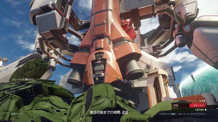 [WZFF-68] XboxOne Halo5 WARZONE FIREFIGHT  野良協力 ウォーゾーンファイアファイト  ESCAPE F...