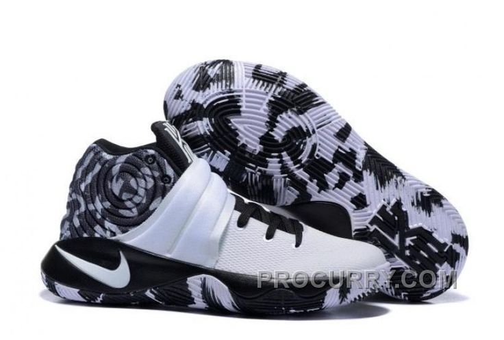 http://www.procurry.com/nike-kyrie-2-black-white-basketball-shoes-new-arrival.html NIKE KYRIE 2 BLACK WHITE BASKETBALL SHOES NEW ARRIVAL Only $95.00 , Free Shipping!