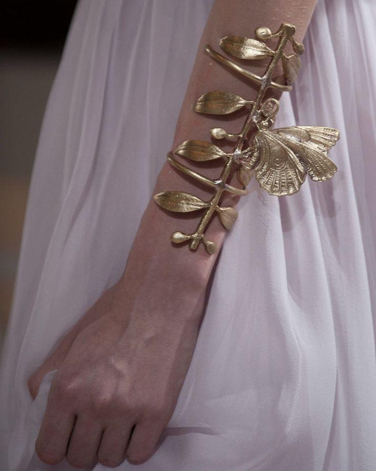Butterfly cuff / Giambattista Valli Haute Couture Autumn/Winter 2012