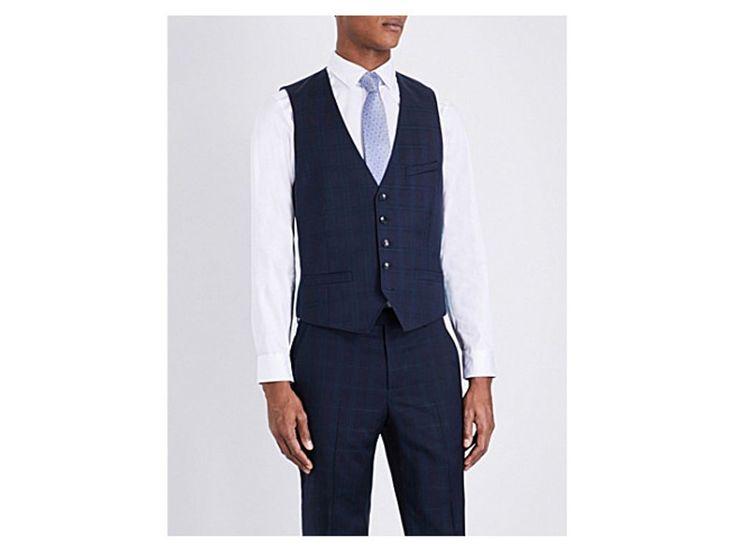 TED BAKER Joinw Debonair wool waistcoat