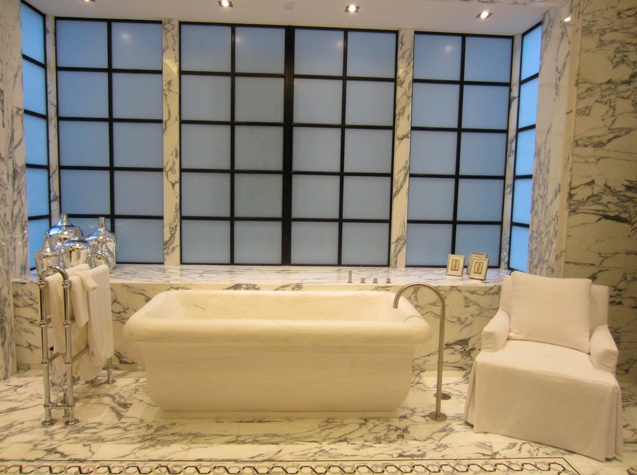 Interiors | Carolina George | Fine Custom Furniture | New York City: George Designs, Custom Furniture, City Living, Personal Care, New York City, Carolina George, Beautiful Bathrooms, Fine Custom