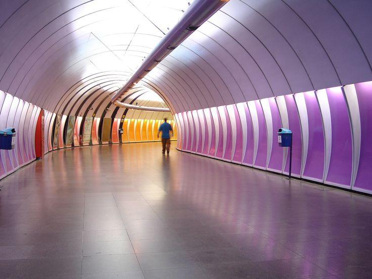 Metrô Rio de Janeiro Copacabana Subway Copacabana Estação Cardeal Arcoverde station Metrô metrorio tunnel túnel #Rio450 Parabéns Rio   Flickr - Photo Sharing!