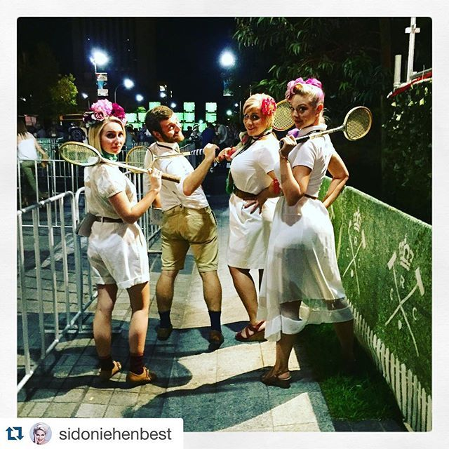 #Repost @sidoniehenbest with @repostapp. ・・・ and that's a wrap...! The final outing of the RCC squash team concluded with the style and sass that has become their trademark. Until next time RCC! @royalcroquetclub @bespokeadl @adlfringe #anyoneforcroquet #frontofhouse #theateam #adelaide #sunday #adlfringe #staffwithpersonality #style