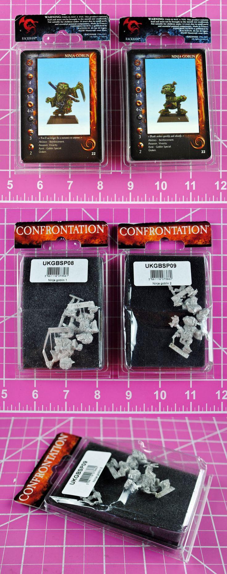 Confrontation 45361: Rackham Confrontation Ninja Goblin (2 Packs!) Rare - Goblins Ninjas -> BUY IT NOW ONLY: $33.95 on eBay!
