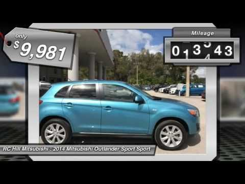 2014 Mitsubishi Outlander Sport DeLand Daytona Orlando EE006472
