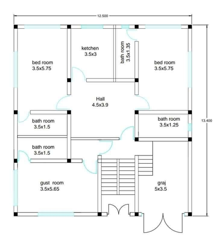 House Plans Ideas For A Comfortable Living To See More Read It House Plans House Layout Plans Unique House Plans