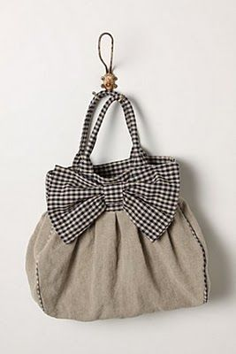 Big Bow Bag tutorial.