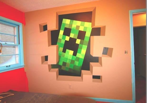 13 besten minecraft bilder auf pinterest kinderzimmer - Minecraft schlafzimmer ...