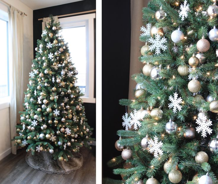 Christmas Tree on a budget on the Spruce & Linen Blog.  #canadiantire