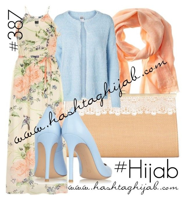 Hashtag Hijab Outfit #387 by hijabhaul on Polyvore featuring polyvore, мода, style, Dorothy Perkins, Vero Moda, Gianvito Rossi, Darling, Banana Republic, fashion, clothing and hijab