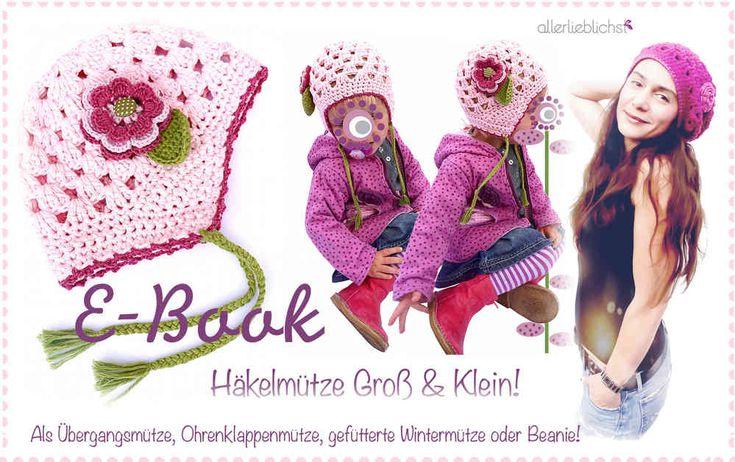 25+ best Häkelmütze Groß & Klein images on Pinterest | Wolle, Beanie ...