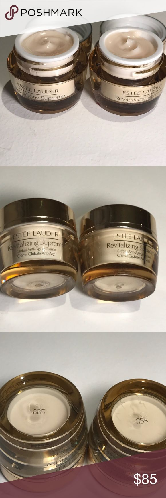 Estée Lauder revitalizing supreme global anti agin Estée Lauder revitalizing supreme global anti aging creme.5 fl oz each set of 2 Estee Lauder Makeup Face Primer