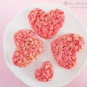 Rice Krispies Hearts, simple and perfect