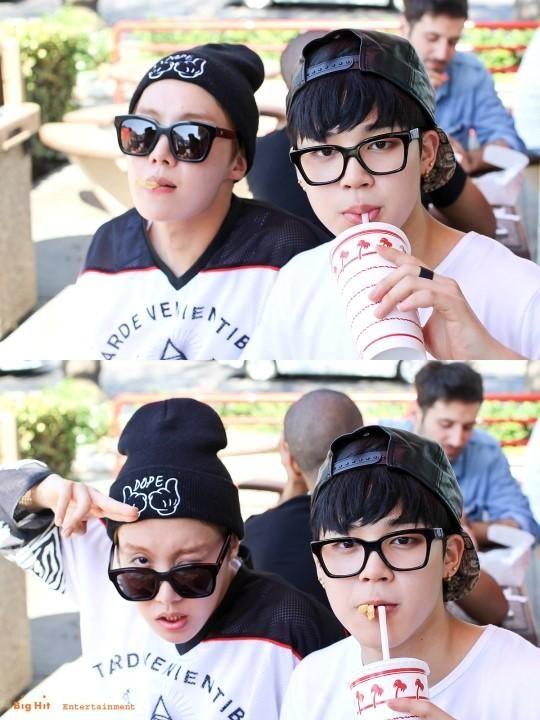 J-Hope & Jimin  BTS
