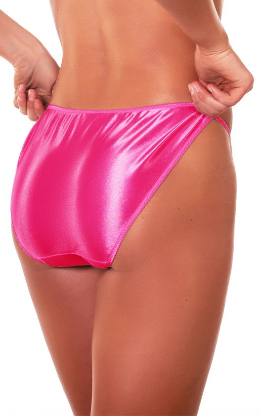pink satin string bikini - photo #11