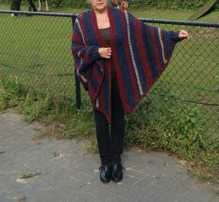 Sjaal met manchet