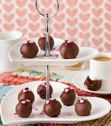 Cadbury Cherry Ripe Truffles Recipe