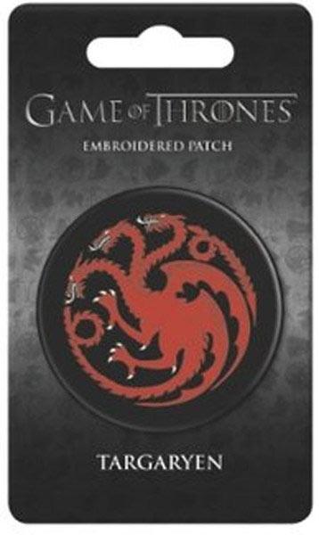 Parche Juego de Tronos. Casa Targaryen