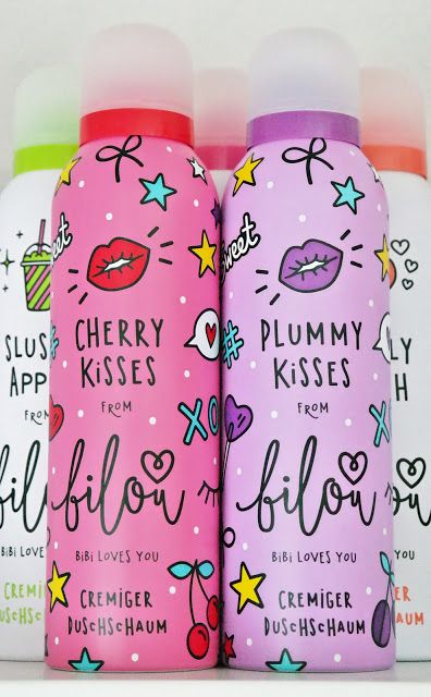 Annashines - Beautyblog: bilou Duschschaum Cherry Kisses und Plummy Kisses