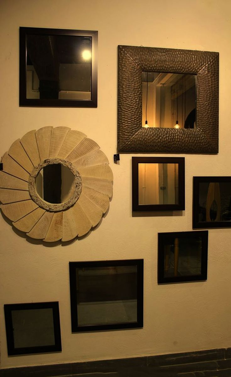 Mirrors shows the real image and it didn't tell lie to any person. Some mirror can be used for home decorations as well. Products of Urban Haus is just like that.
