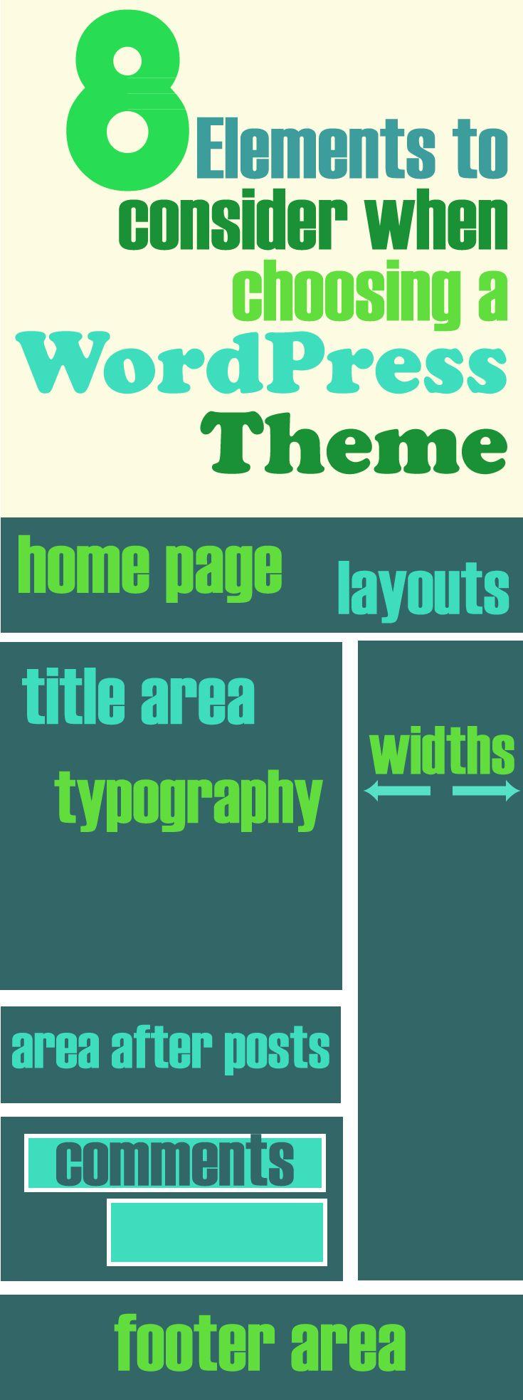 8 elements to consider when choosing a WordPress theme  22e52db4481a38087d68591bacc137fa