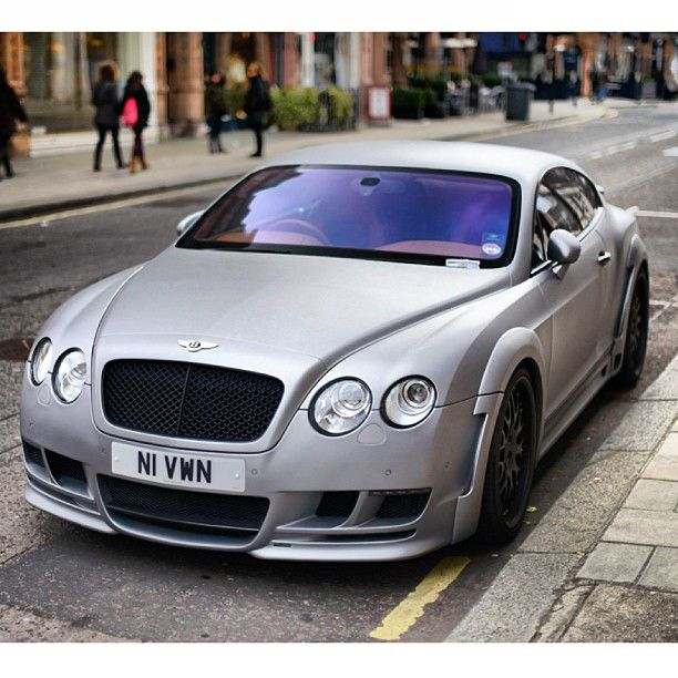 Matte Silver Bentley #Awesome