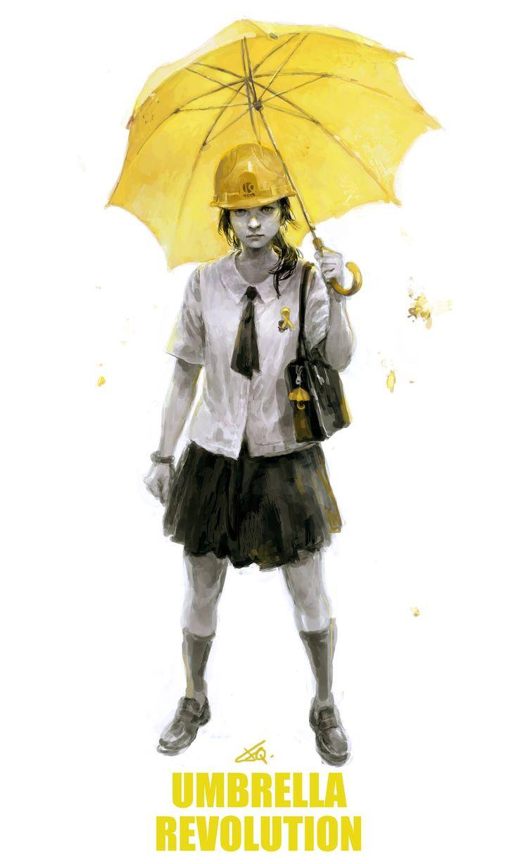 Umbrella Revolution by cellar-fcp.deviantart.com on @DeviantArt