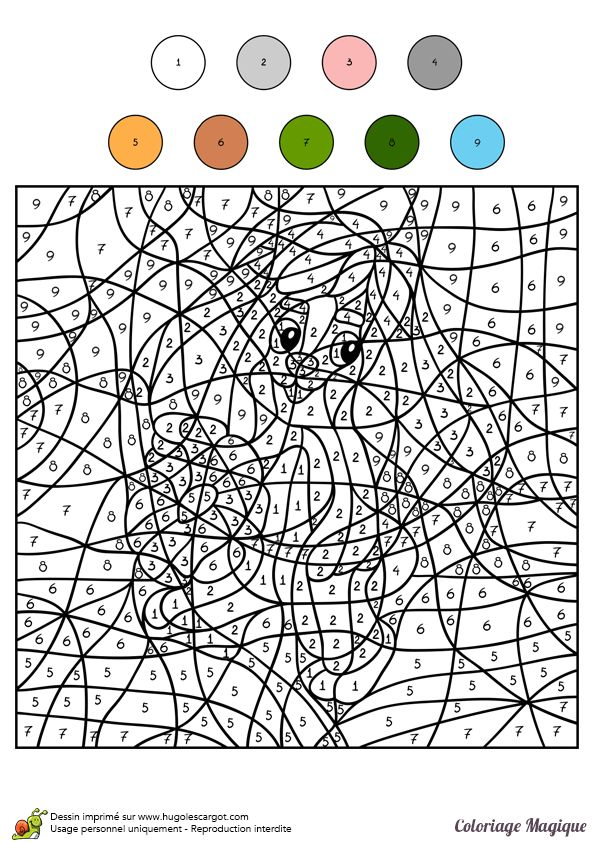 116 best coloriages magiques coloring by numbers images on pinterest kids coloring calculus - Coloriage magique panda a imprimer ...
