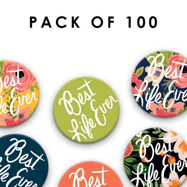 Pack of 100 38 mm/1.5 inch Best Life Ever Pin Badges, Jehovah's Witnesses, JW Gift, Pioneer School Gift, jw pins, jw.org pins by SeasonedWSalt on Etsy https://www.etsy.com/listing/506790532/pack-of-100-38-mm15-inch-best-life-ever