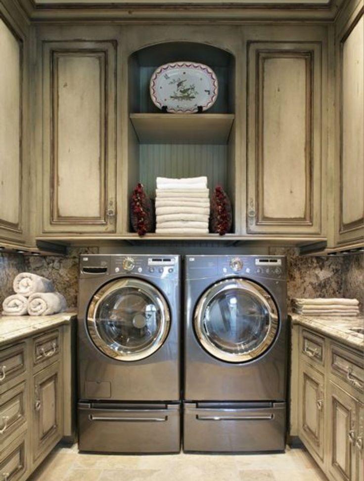 Mutfak değil :) çamaşır odası