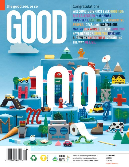 GOOD Magazine (internship) on Behance