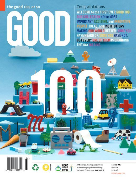 GOOD Magazine (internship) on Behance