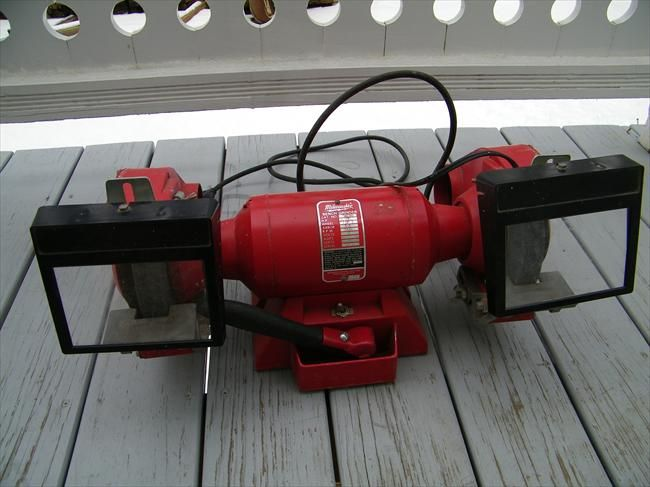 Milwaukee Bench Grinder For The Home Pinterest Best