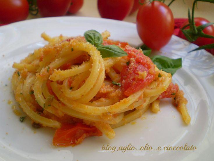 In pochissimi minuti potrete gustare tutto il sapore dei pomodorini aromatizzati dal basilico insaporiti dalle acciughe la nota croccante la rende gustosa