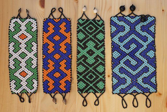 Shipibo Tribe Bead Work -Peru