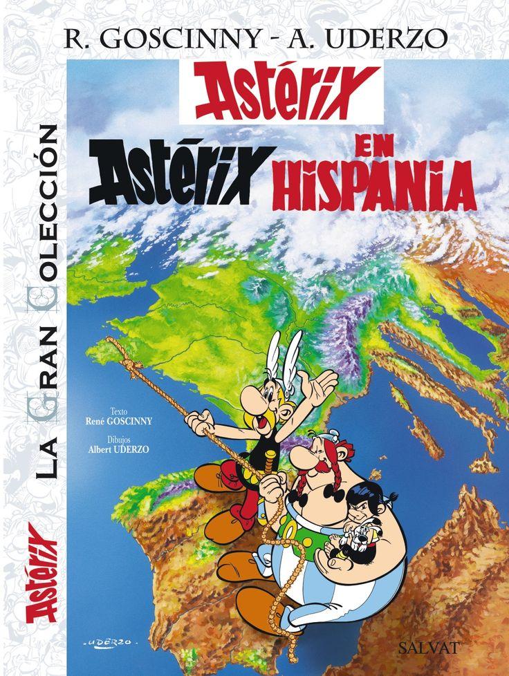 ASTÉRIX EN HISPANIA. La gran colección 14. - ¡La Gran Colección sigue creciendo! En Astérix en Hispania, uno de los álbumes favoritos de los fans, los protagonistas viajan hasta el país vecino para reunir a un padre con su hijo, el «,encantador», Pepe.