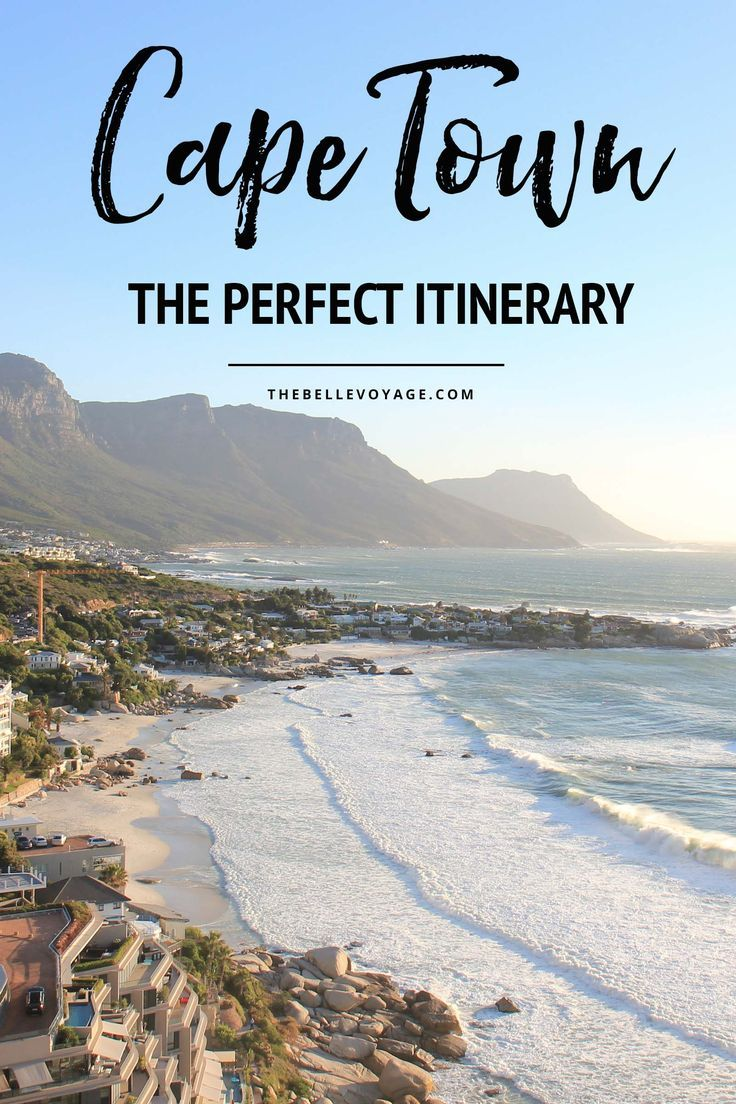 Cape Town, South Africa – The Perfect Itinerary for First-Timers | Visit Living to Roam for more travel tips | livingtoroam.com