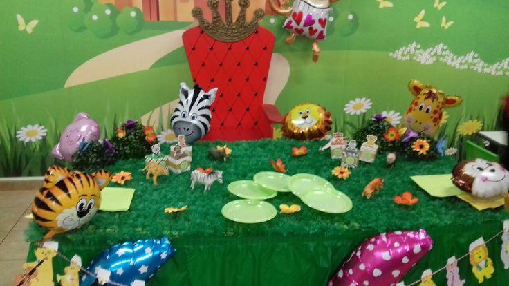 Festa tema giungla