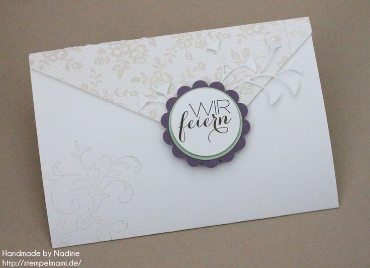 stampin up konfirmationskarte konfirmation kommunion karte, Einladung