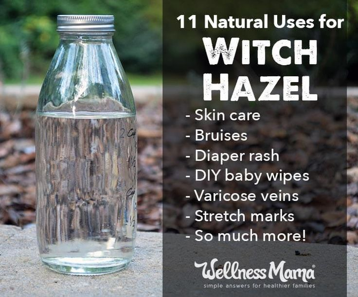 Witch hazel can be used for many natural remedies and to help improve the look and feel of your skin!