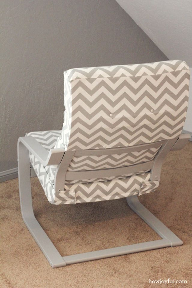 Ikea Toddler Bed With Canopy ~ Nursery Ikea poang chair recover  How Joyful