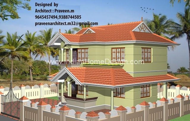 11 spectacular new indian home design 3d views malvernweather Images