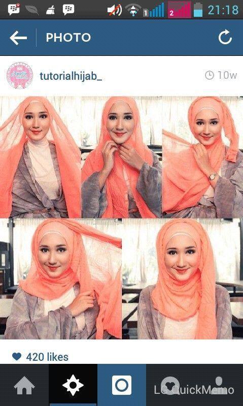 Dian pelangi  Hijab tutorial
