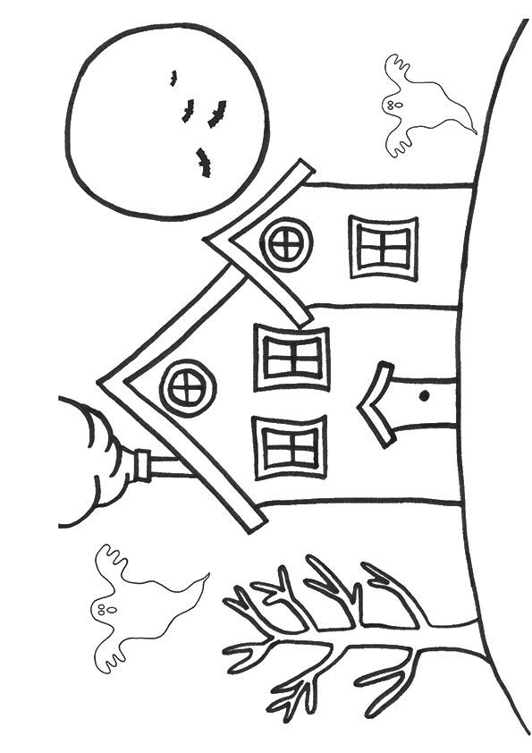 Coloring Page House Colouring Pages Coloring Pages Color