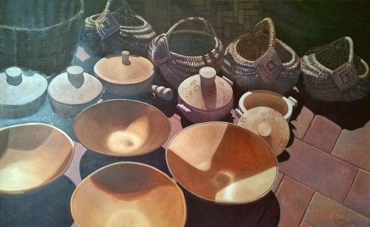 Koshairi/ Wooden Pots